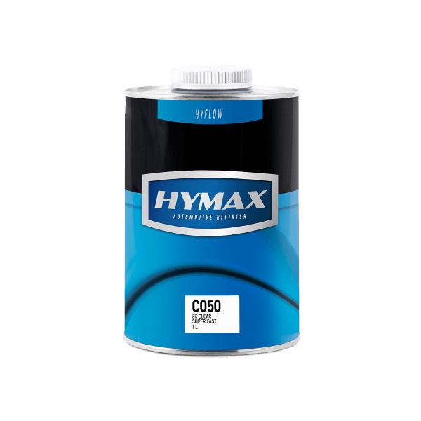 2K прозрачный супербыстрый лак C050 (1 л) HyMax