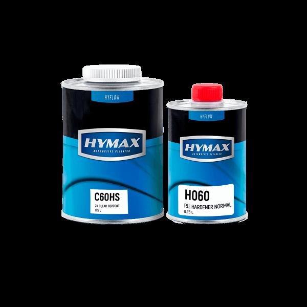 Комплект лака C060HS (0,5 л) с отвердителем H060 (0,25 л) HyMax
