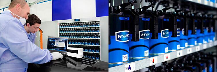 Ассортимент HyMax и рабочий персонал